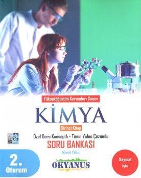 Okyanus Yayınları YKS 2. Oturum Kimya Özel Ders Konseptli Soru Bankası 1. Kitap