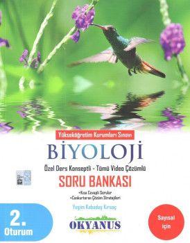 Okyanus Yayınları YKS 2. Oturum Biyoloji Özel Ders Konseptli Soru Bankası