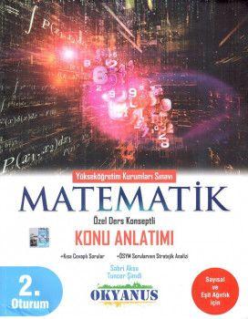 Okyanus Yayınları YKS 2. Oturum Matematik Özel Ders Konseptli Konu Anlatımı