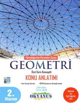 Okyanus Yayınları YKS 2. Oturum Geometri Özel Ders Konseptli Konu Anlatımı