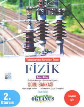 Okyanus Yayınları YKS 2. Oturum Fizik Özel Ders Konseptli Soru Bankası 2. Kitap