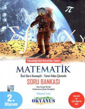 Okyanus Yayınları YKS 2. Oturum Matematik Özel Ders Konseptli Soru Bankası