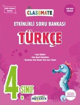 Okyanus Yayınları 4. Sınıf Türkçe Classmate Etkinlikli Soru Bankası