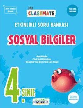 Okyanus Yayınları 4. Sınıf Sosyal Bilgiler Classmate Etkinlikli Soru Bankası