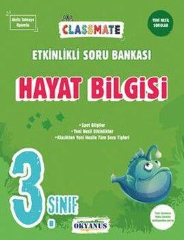 Okyanus Yayınları 3. Sınıf Hayat Bilgisi Classmate Etkinlikli Soru Bankası