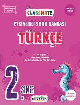 Okyanus Yayınları 2. Sınıf Türkçe Etkinlikli Soru Bankası