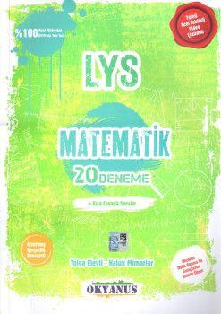 Okyanus Yayınları LYS Matematik 20 Deneme Kısa Cevaplı Sorular
