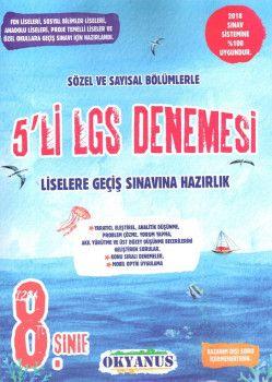 Okyanus Yayınları 8. Sınıf LGS 5 li Deneme Sınavı