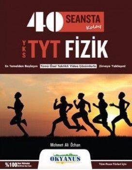 Okyanus Yayınları YKS 1. Oturum TYT 40 Seansta Kolay Fizik Soru Bankası
