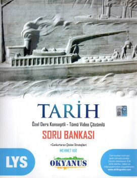 Okyanus Yayınları LYS Tarih Özel Ders Konseptli Tümü Video Çözümlü Soru Bankası