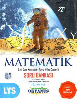 Okyanus Yayınları LYS Matematik Özel Ders Konseptli Tümü Video Çözümlü Soru Bankası