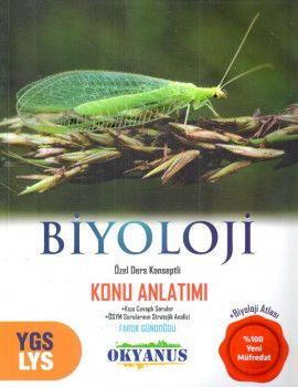 Okyanus Yayınları YGS LYS Biyoloji Özel Ders Konseptli Konu Anlatımı