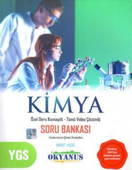Okyanus Yayınları YGS Kimya Özel Ders Konseptli Tümü Video Çözümlü Soru Bankası