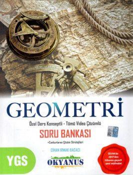 Okyanus Yayınları YGS Geometri Özel Ders Konseptli Tümü Video Çözümlü Soru Bankası