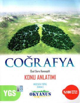 Okyanus Yayınları YGS Coğrafya Özel Ders Konseptli Konu Anlatımı