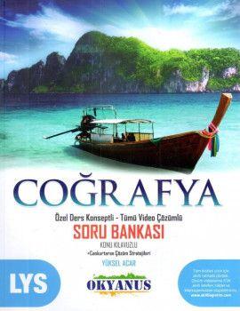 Okyanus Yayınları LYS Coğrafya Özel Ders Konseptli Tümü Video Çözümlü Soru Bankası