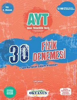 Okyanus Yayınları YKS 2. Oturum AYT Fizik 30 Deneme