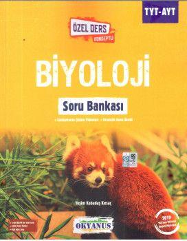 Okyanus Yayınları TYT AYT Biyoloji Özel Ders Konseptli Soru Bankası