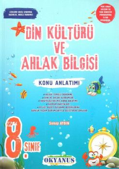 Okyanus Yayınları 8. Sınıf Din Kültürü ve Ahlak Bilgisi Konu Anlatımlı
