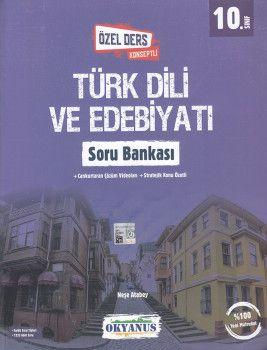 Okyanus Yayınları 10. Sınıf Türk Dili ve Edebiyatı Özel Ders Konseptli Soru Bankası