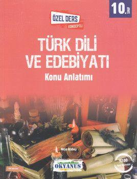 Okyanus Yayınları 10. Sınıf Türk Dili ve Edebiyatı Özel Ders Konseptli Konu Anlatımı