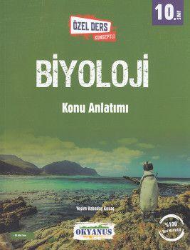 Okyanus Yayınları 10. Sınıf Biyoloji Özel Ders Konseptli Konu Anlatımı
