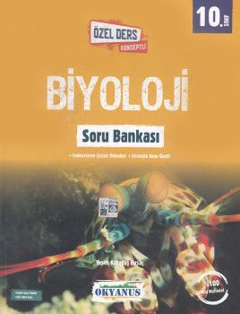 Okyanus Yayınları 10. Sınıf Biyoloji Özel Ders Konseptli Soru Bankası