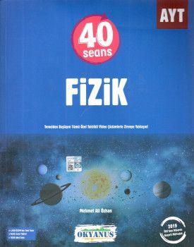 Okyanus Yayınları AYT 40 Seans Fizik Soru Bankası
