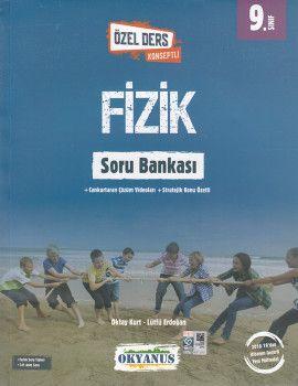 Okyanus Yayınları 9. Sınıf Özel Ders Konseptli Fizik Soru Bankası