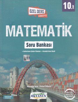 Okyanus Yayınları 10. Sınıf Özel Ders Konseptli Matematik Soru Bankası