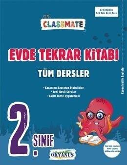 Okyanus Yayınları 2. Sınıf Tüm Dersler Classmate Evde Tekrar Kitabı