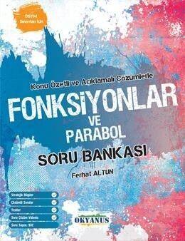 Okyanus Yayınları AYT Fonksiyonlar ve Parabol Soru Bankası