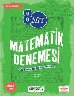 Okyanus Yayınları AYT Matematik 8li Deneme