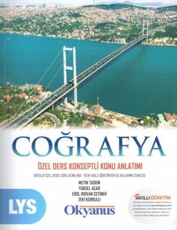 Okyanus Yayınları LYS Coğrafya Özel Ders Konseptli Konu Anlatımı