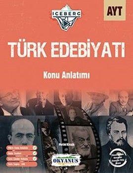 Okyanus YayınlarıAYT Türk Edebiyatı Iceberg Konu Anlatımlı