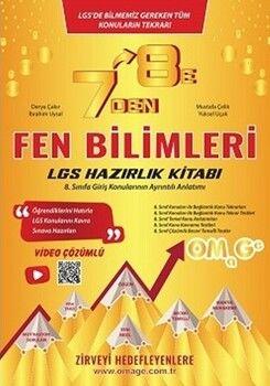 Omage Yayınları 7 den 8 eLGSFen Bilimleri Hazırlık Kitabı