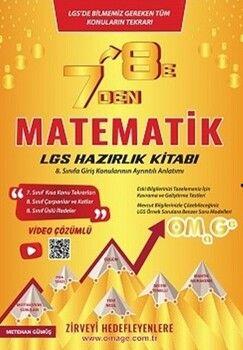 Omage Yayınları7 den 8 eLGSMatematik Hazırlık Kitabı