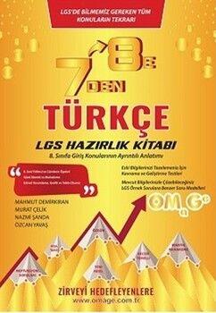 Omage Yayınları7 den 8 eLGSTürkçe Hazırlık Kitabı