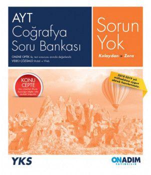Onadım Yayıncılık AYT Coğrafya Sorun Yok Soru Bankası