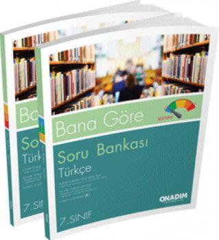 Onadım Yayıncılık 7. Sınıf Türkçe Bana Göre Soru Bankası