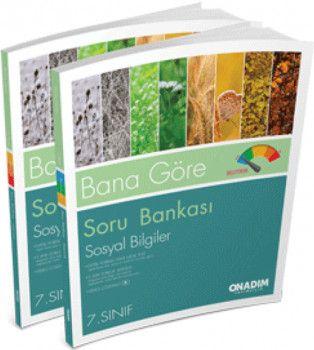 Onadım Yayıncılık 7. Sınıf Sosyal Bilgiler Bana Göre Soru Bankası
