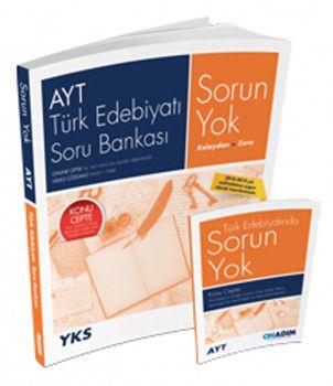 Onadım Yayıncılık AYT Türk Edebiyatı Sorun Yok Soru Bankası