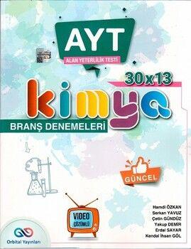 Orbital Yayınları AYT Kimya 30 x 13 Branş Denemesi