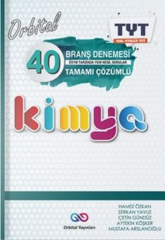 Orbital Yayınları TYT Kimya Orbital 40 Branş Denemesi