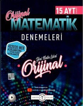 Orijinal Yayınları AYT Orijinal Matematik Özel 15 li Denemeleri