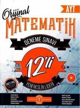 Orijinal Yayınları AYT Matematik 12 li Deneme Sınavı