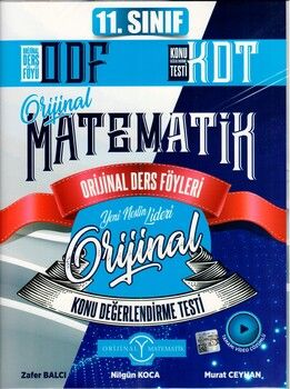 Orijinal Yayınları 11. Sınıf Matematik ODF KDT Seti
