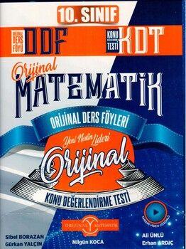 Orijinal Yayınları 10. Sınıf Matematik ODF KDT Seti