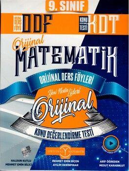 Orijinal Yayınları 9. Sınıf Matematik ODF KDT Seti