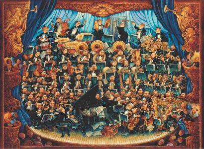 Orkestra Fortissimo 1000 Parça Yapboz